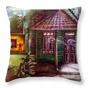 The House Of Spirits Throw Pillow