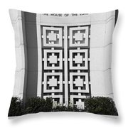 The House Of The Lord Throw Pillow