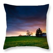 The House Of The Rising Sun Throw Pillow