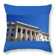 The House Office Building  Throw Pillow