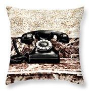 The House Phone Throw Pillow