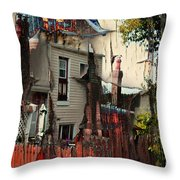 The House That Jack Built Throw Pillow