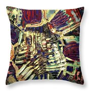 The Human Heart Throw Pillow by Michael Kulick