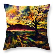 The Hunter Throw Pillow by Kd Neeley