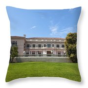 The Huntington Library House And Art Gallery Throw Pillow
