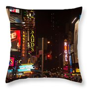 The Hustle And Bustle  Throw Pillow