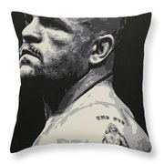 The Iceman Throw Pillow