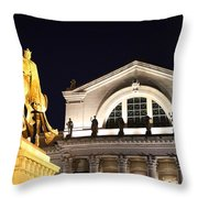 The Illumination Of Saint Louis Ix Throw Pillow