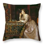 The Important Response Throw Pillow by Florent Willems