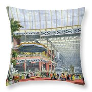 The Inauguration, From Dickinsons Throw Pillow