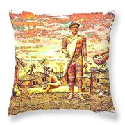 The Indian Tribe Throw Pillow