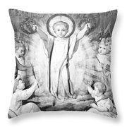 The Infant Jesus Throw Pillow