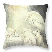 The Infant Jesus Saying His Prayers Throw Pillow