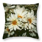 The Infinite Shades Of White Throw Pillow