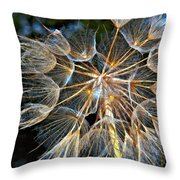 The Inner Weed Oil Throw Pillow