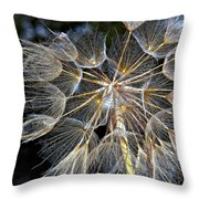The Inner Weed Paint Throw Pillow
