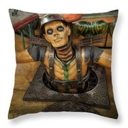 The Inside Diver Throw Pillow