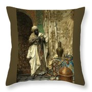 The Inspection Throw Pillow