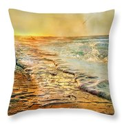 The Inspirational Sunrise Throw Pillow
