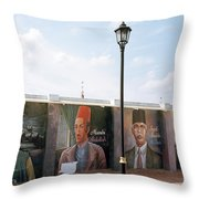 The Intellectuals Throw Pillow