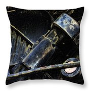 The Internal Parts Abstract Throw Pillow