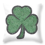 The Intricacies Of A Shamrock Throw Pillow