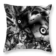 The Invaders Throw Pillow