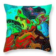 The Invention Of Color Throw Pillow