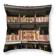 The Ironbar Throw Pillow