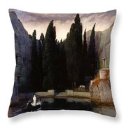 The Isle Of The Dead Throw Pillow