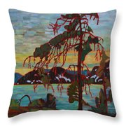 The Jack Pine After Tom Thomson Throw Pillow