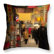 The Jackpot Is Throw Pillow
