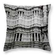 The Jain Temple Throw Pillow