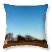 The Jamestown Windmill Throw Pillow