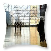 The Janitor Throw Pillow
