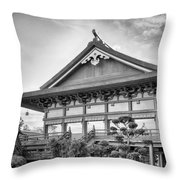 The Japan Pavilion Throw Pillow