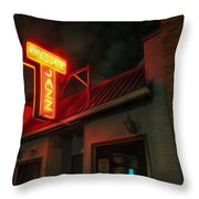 The Jazz Estate Throw Pillow