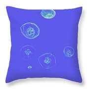 The Jelly Fish Design Throw Pillow