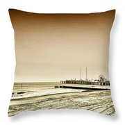 The Jersey Shore Throw Pillow