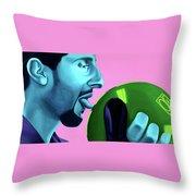 The Jesus Throw Pillow