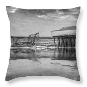 The Jetstar Throw Pillow by Debra Fedchin