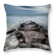 The Jetty Square Throw Pillow
