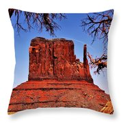 The John Ford West Throw Pillow