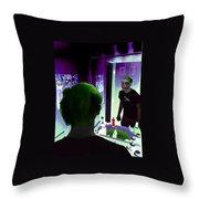 The Joker In Me Throw Pillow