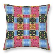 The Joy Of Design I X Arrangement An Opening Throw Pillow