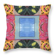The Joy Of Design I X Arrangement Windows Throw Pillow