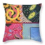 The Joy Of Design I X Throw Pillow
