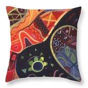 The Joy Of Design II Throw Pillow