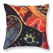 The Joy Of Design II Part Two Throw Pillow