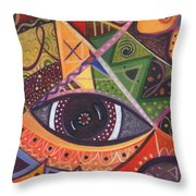 The Joy Of Design IIl Part Three Throw Pillow